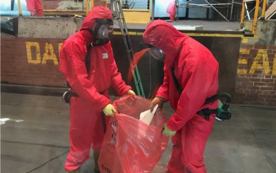 Qualified asbestos removal professionals required