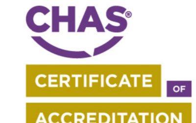 CHAS Premium Plus Accreditation